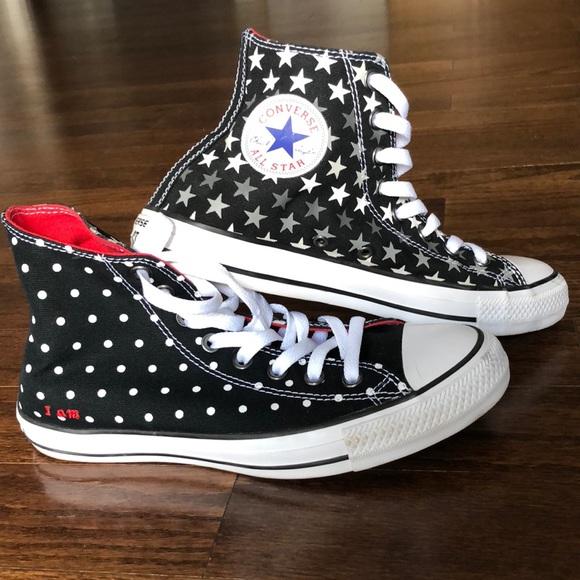 b7147c32ab42 Converse Shoes - Custom Converse Chuck Taylor High Tops ❤️